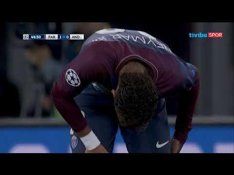 PSG 5-0 Anderlecht | UEFA Şampiyonlar Ligi B Grubu Maç Özeti
