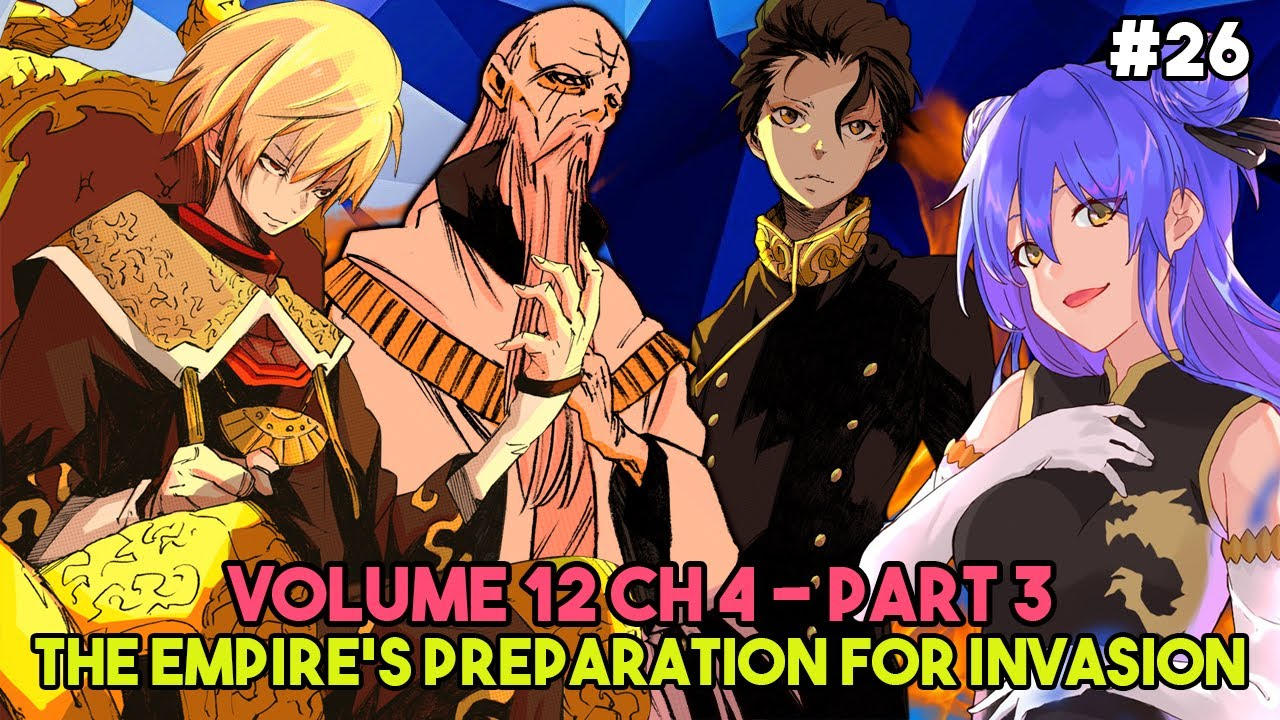 Download Empire's Preparation to Attack Tempest | Empire's Final Plan | Volume 12 CH 4 Part 3 | LN Spoilers