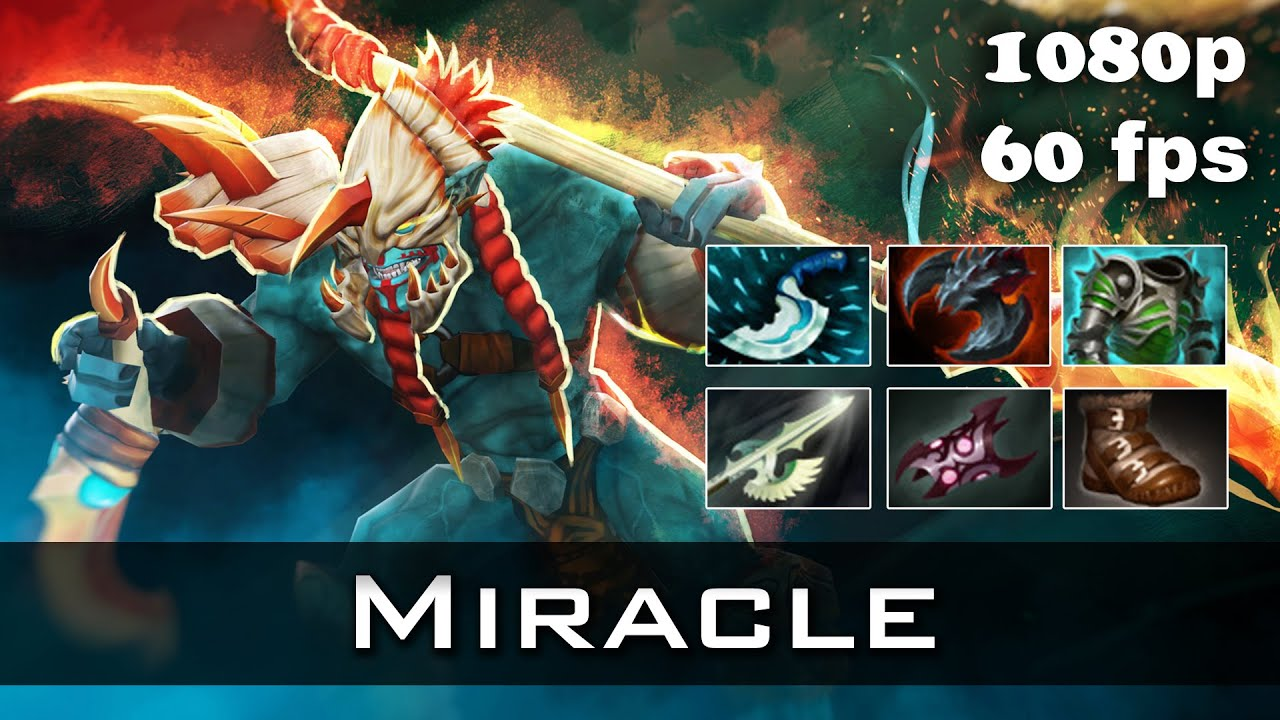 miracle huskar dota 2 gameplay youtube