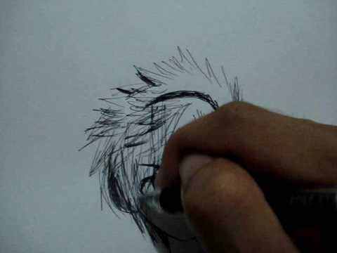 my anime drawing with headphones youtube