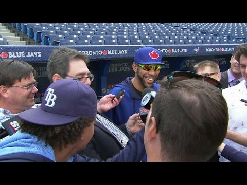 TB@TOR: Rays' Archer interviews Price before the game