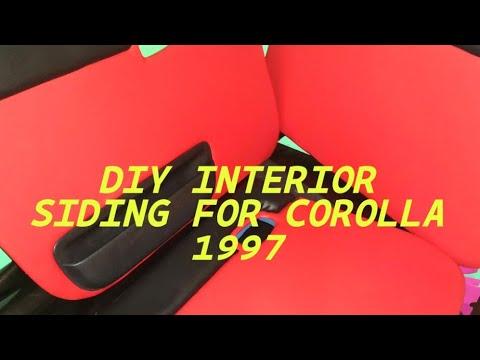 CHEAP DIY INTERIOR SIDING FOR COROLLA 1997