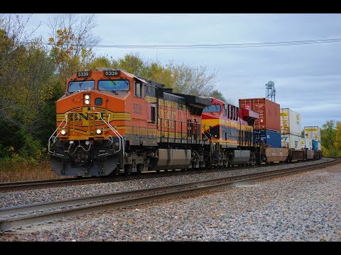 HD: Railfanning La Plata, MO On The BNSF Marceline Subdivision