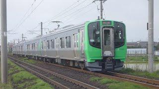 阿武隈急行線直通運用初の新型車両・AB900系0番台AB-1+AB-2 仙台行2965Ⅿ・丸森行2966Ⅿ 名取~南仙台間にて 2020年5月24日日曜日