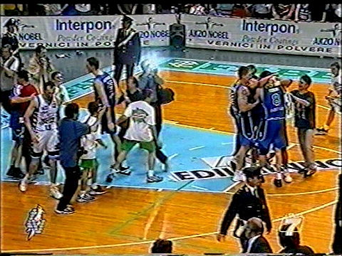 A2 Play off 2000/'01 B. Marche Fabriano Basket - Record Napoli 74-72