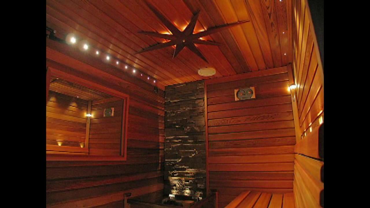 Применение светодиодных светильников в бане