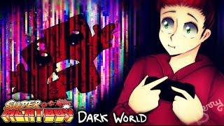 ESTE PUTO CUBO DE CARNE CASI ME CORROMPE LA PC. | SUPER MEAT BOY #12 (Dark World)