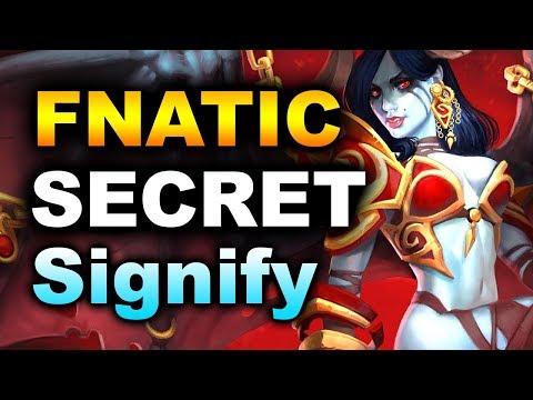 FNATIC + SECRET vs SIGNIFY - BEST INDIAN TEAM - PVP ESPORTS DOTA 2