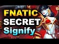 FNATIC + SECRET vs SIGNIFY - BEST INDIAN TEAM - PVP ESPORTS DOTA 2