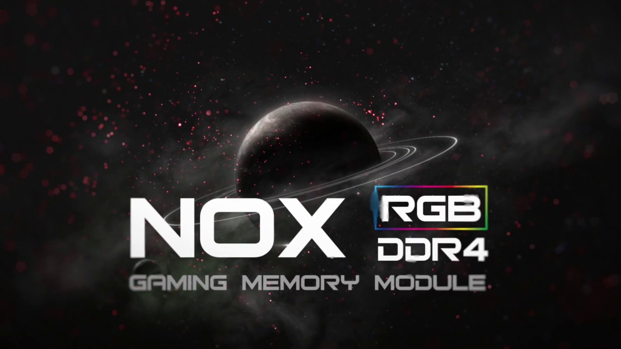 Apacer Introduces NOX RGB DDR4 Gaming Memory