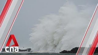 Rivers swell, drains overflow in Tokyo as Typhoon Hagibis nears