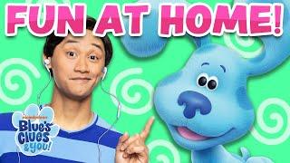 Josh & Blue Playdate #8 Sing Alongs & Skidoo Challenge | Blue's Clues & You!