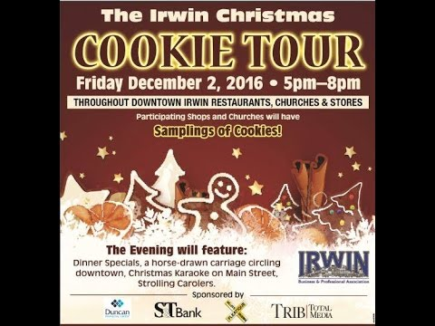 Irwin Business and Professional Association 2016 Cookie Tour
