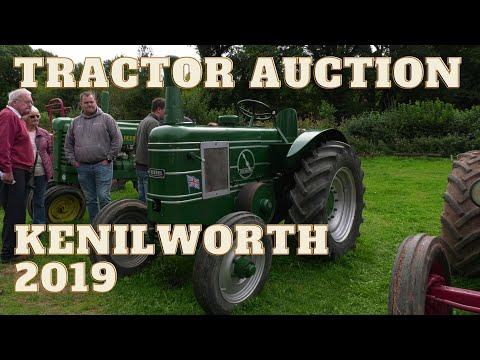Tractor Auction In Kenilworth 2019
