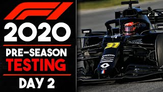 F1 2020 Winter Testing Day 2 Review!