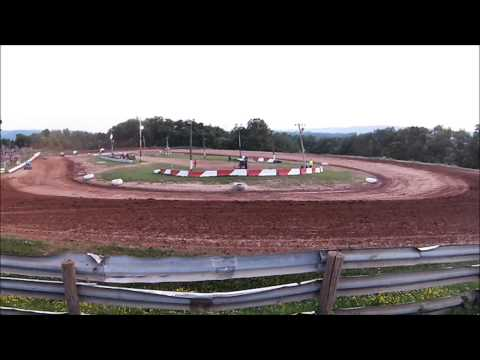 Clinton County Raceway - 305 Sprints, Heat Race 2