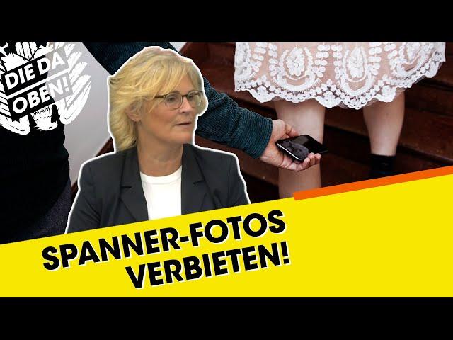 Justizministerin: Spanner-Fotos strafbar machen!