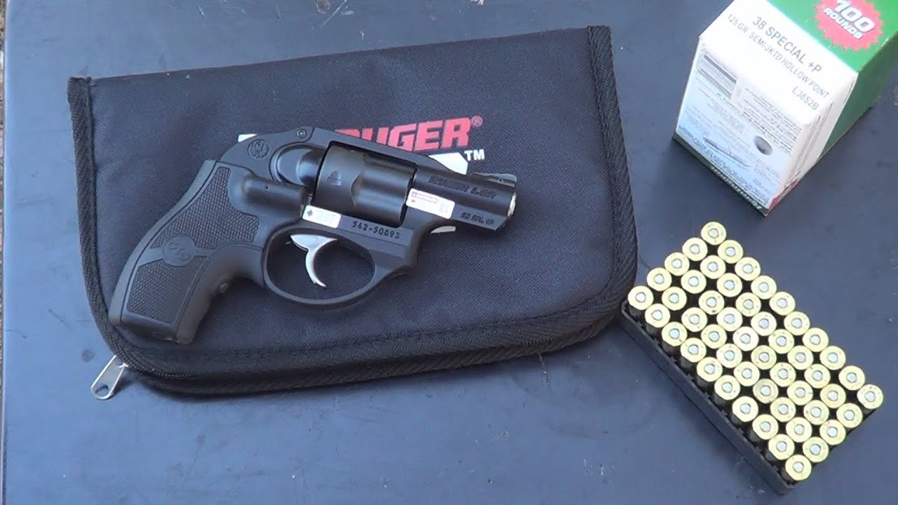 Ruger Lcr 38 Special P Shooting
