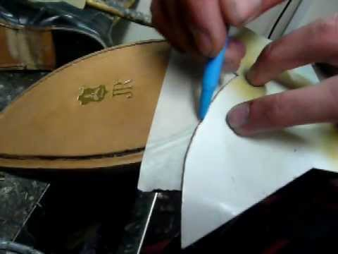 Put Rubber Sole On Leather Shoe