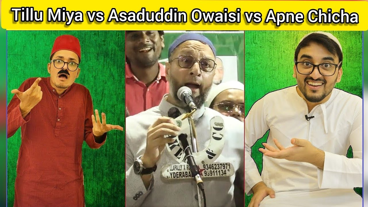Download Apne Tillu vs Asaduddin Owaisi vs Kiraak Chicha | Hyderabadi Comedy | The Baigan Vines