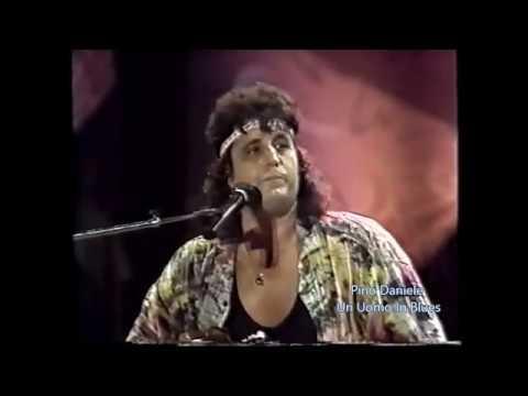 Pino Daniele e Bernard Lavilliers 'A rrobba mia live Napoli 1987 Bonne Soirèe tour