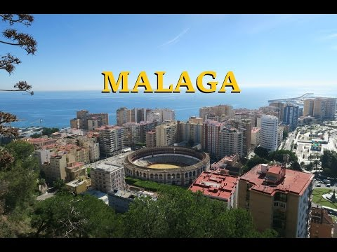 Visiting Malaga, cycling around the city. Fruit and other good things.