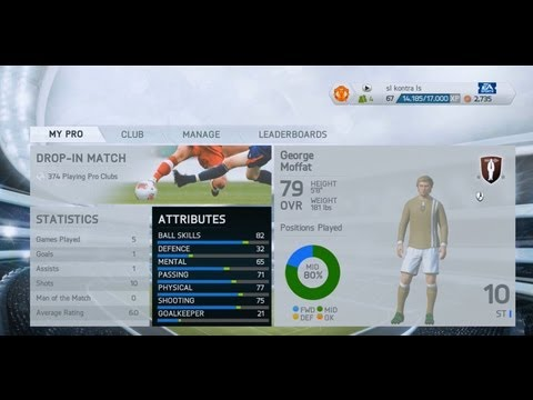 Fifa 14 Leveling up Tips in Pro Clubs