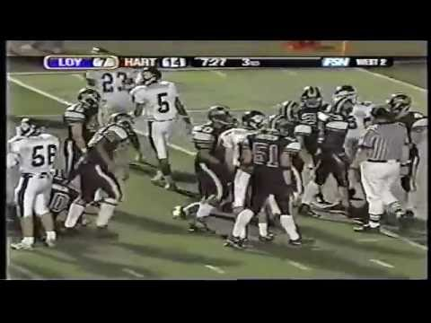 Hart High School Football James Wheeler 2005 Highlights pt.2