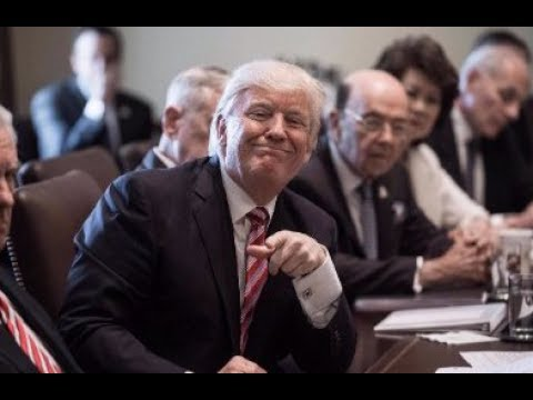Donald Trump's WEIRD Cabinet Meeting 6/12/2017 - YouTube