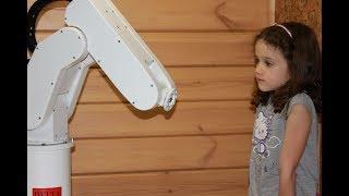 Программирование промышленного робота. Обучение! DIY ARDUINO ROBOT ARM OPEN PROJECT.