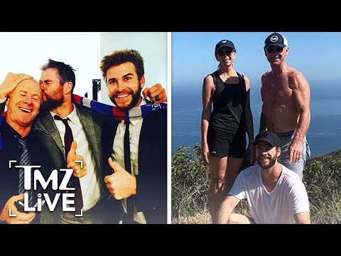 The Hemsworth Brother's Have A Really Hot Dad | TMZ Live