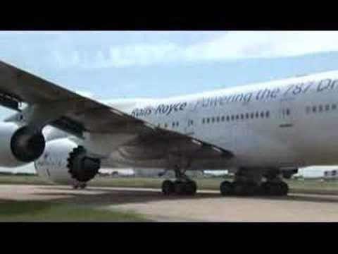 Rolls-Royce Trent 1000 Flying Test Bed