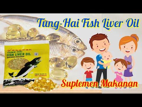 Tung Hai Fish Liver Oil( Minyak Hati Ikan Kod)