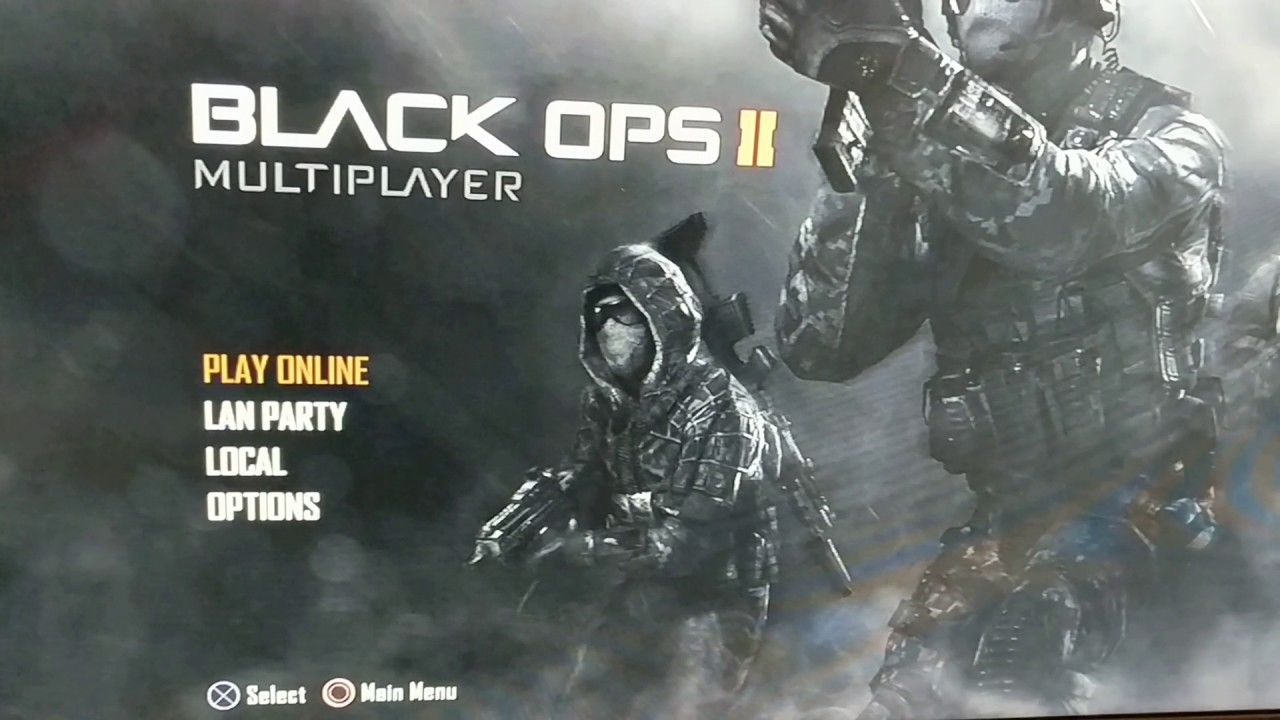 Call of Duty Black Ops 2 Playstation 3 servers down