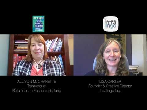 SPOTLIGHT With Translator Allison M. Charette
