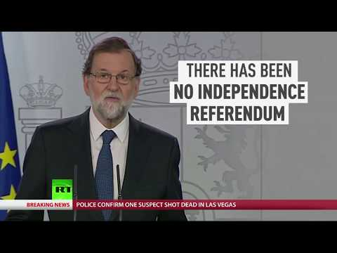 "Spanish PM: ""There was no independence referendum in Catalonia"""