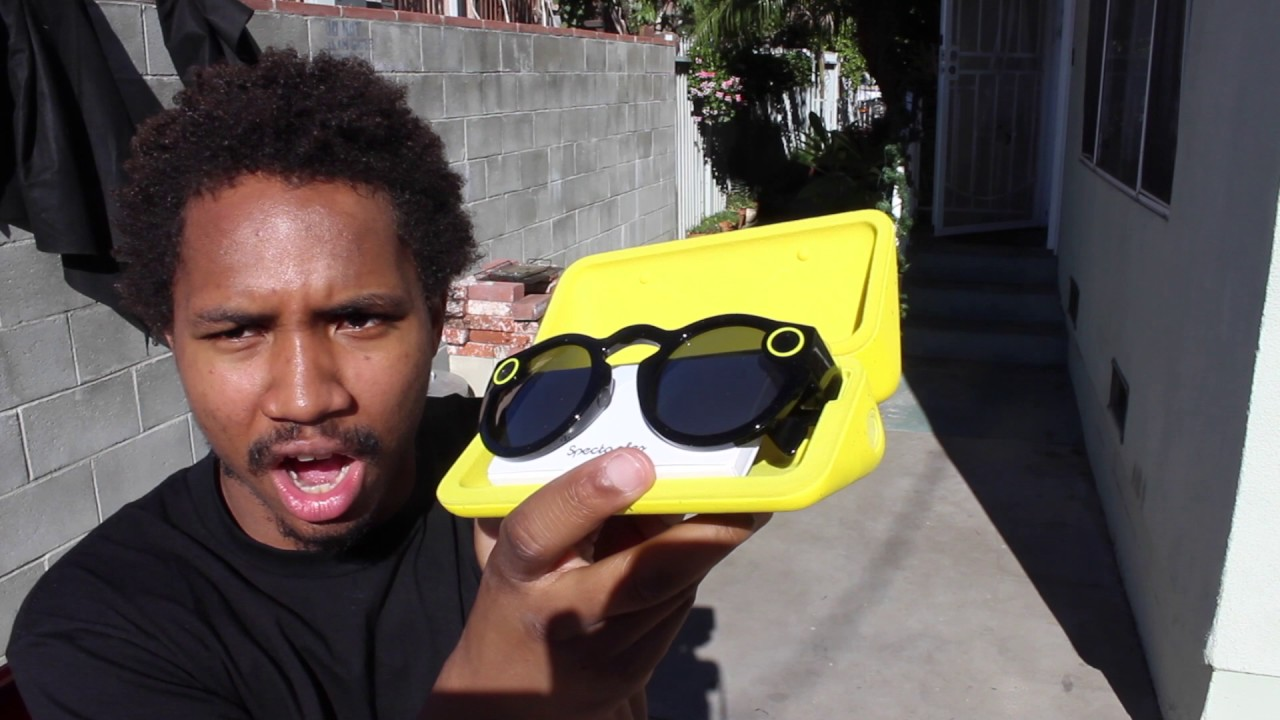 a1868423720f SNAPCHAT SPECTACLES UNBOXING REVIEW - YouTube