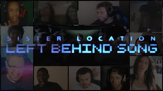 Left Behind Song By DAGames Reaction Mashup