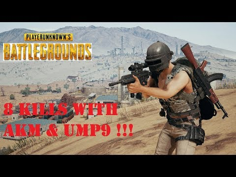 download 8 Kills with UMP9 and AKM in PUBG Mobile