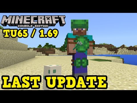Minecraft Xbox 360 / PS3 - Last Update TU65 Release Date Info - YouTube