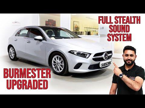 Burmester Sound System BLOWN AWAY   Mercedes A Class FULL Audio Upgrade