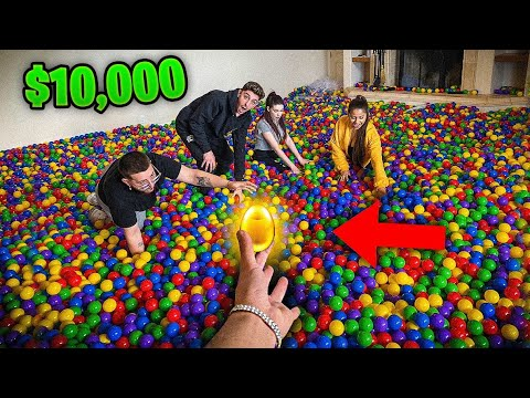 FIND THE EGG, WIN $10,000! *Golden Egg Challenge*