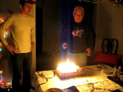 Birthday Cake Fire Youtube