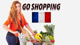 Learn French for Beginners | Lesson go shopping | English-French