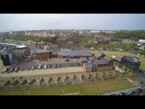 Drone/Aerial - Fish Quay, North Shields, North Tyneside