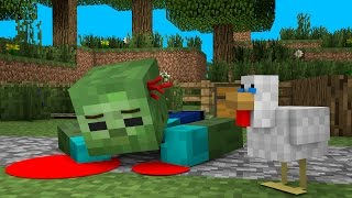 Zombie Life 3 / жизнь зомби 3 - Craftronix minecraft пародия