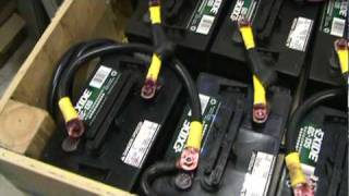 choosing batteries for solar power offgrid or a battery backup system
