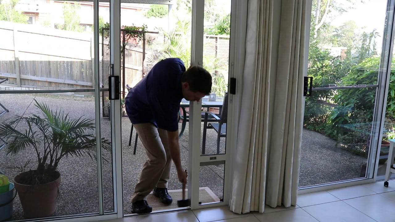How To Fit A Screen Door Adapter No Cutting By Modern Pet Doors