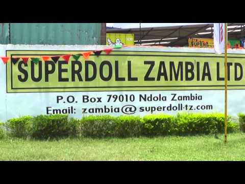 Superdoll Ndola Zambia Minister of Labor & Social Security Visit