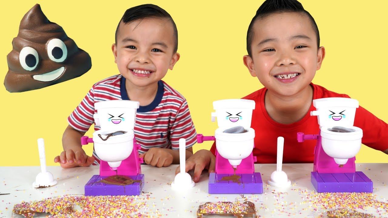 CHOCOLATE DIY Fun With CKN Toys